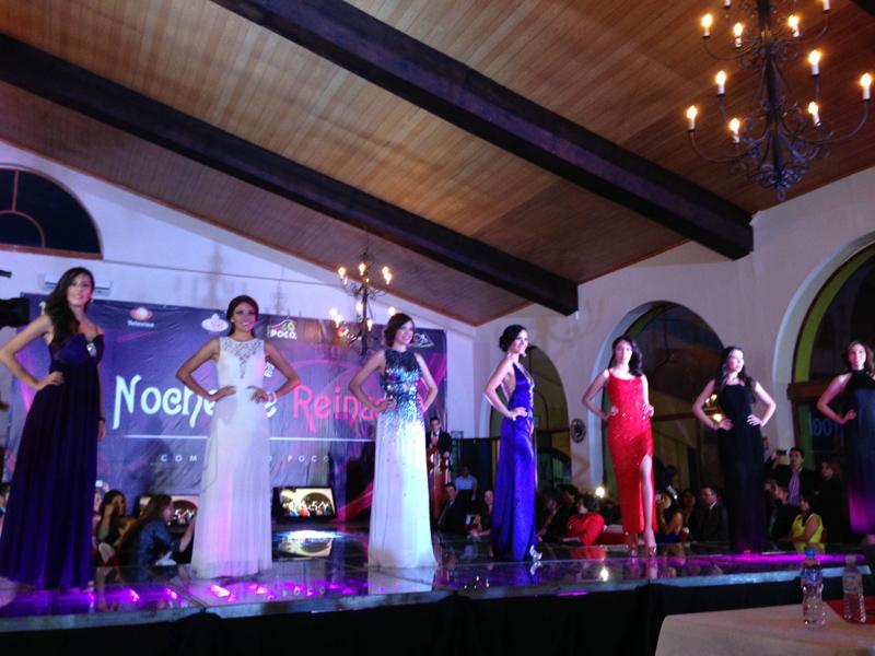 Presentación Señorita Estado de México para el certamen Nuestra Belleza México en la Hacienda Villejé.